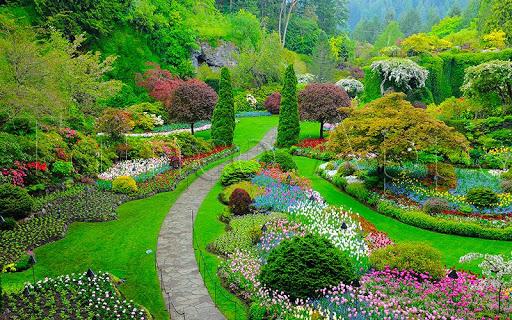 Jardins et Parcs Puzzle  captures d'écran 2