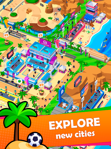 Idle Sports City Tycoon Game: Build a Sport Empire apkpoly screenshots 10