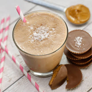 Salted Peanut Butter Cup Smoothie.