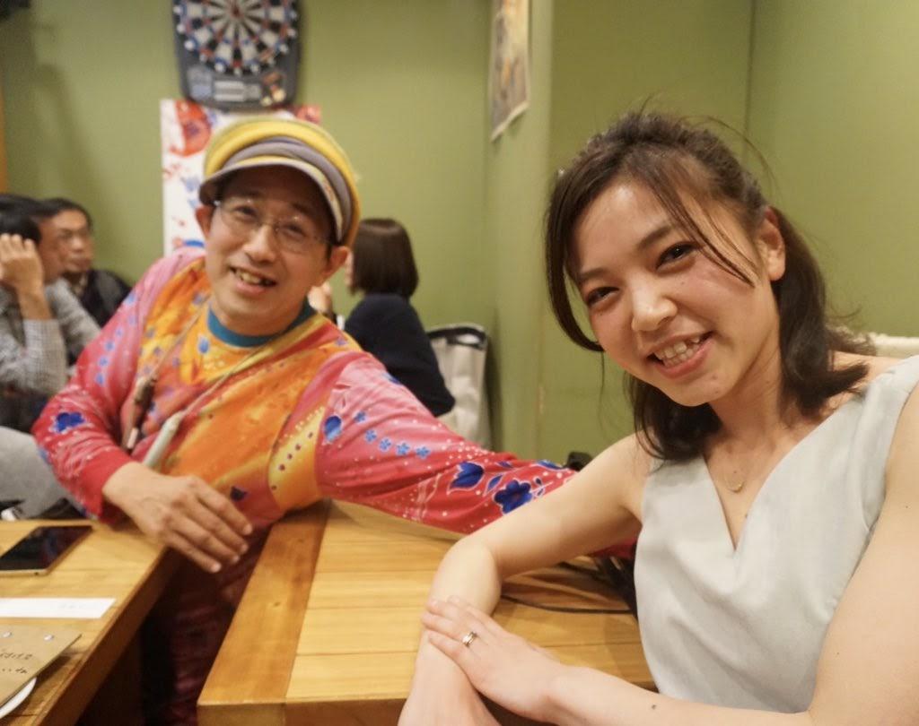いくみんと世手子さんとのツーマンLIVE at いさりび平和島店。