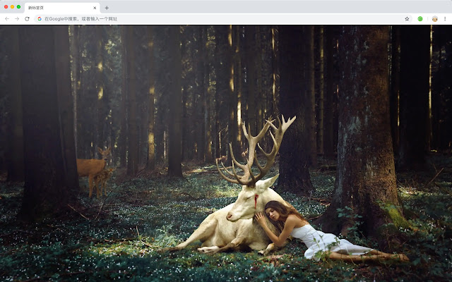 Deer New Tab Page HD Top Wallpapers Themes