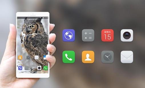 Theme for Nokia Lumia 638 Owl Wallpaper - náhled