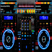 Virtual Music mixer DJ