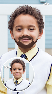 Boy Photo Editor : Man Beard Mustache - náhled