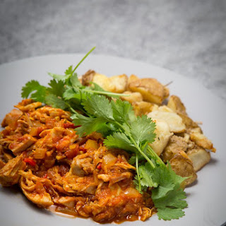 Leftover Turkey Curry.