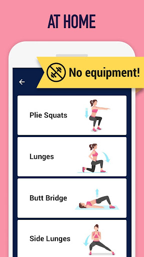 Buttocks workout - Hips, Legs & Butt workout 1.0.9 screenshots 2