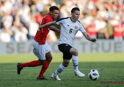 Le Club de Bruges s'intéresse à un international costaricain