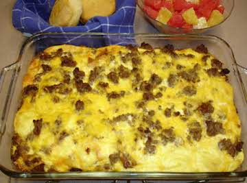 Super Easy Breakfast Casserole