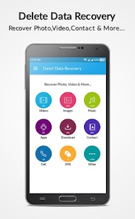 Recover Deleted All Files, Photos and Contacts - náhled