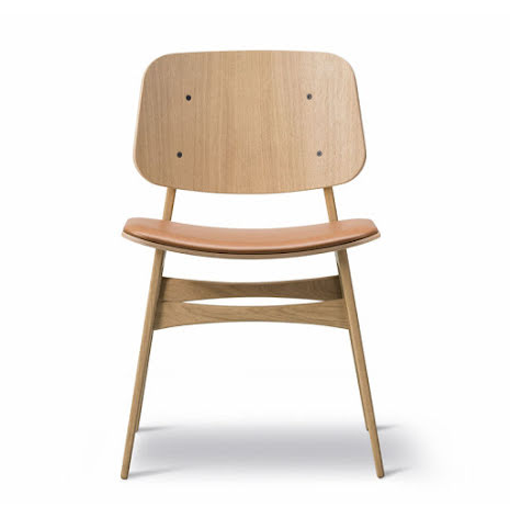 Söborg stol 3051, stoppad sits