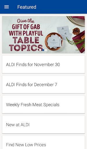 ALDI USA Screenshot