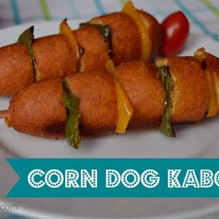Country Ribbon Corn Dogs Kabobs Recipe #GetCorny