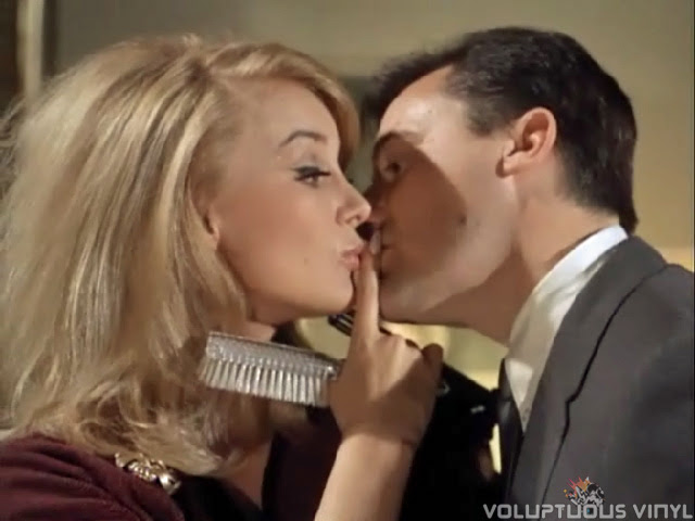 Barbara Bouchet teases Napoleon Solo in an episode of The Man From U.N.C.L.E.