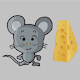 Moving Cheese -eat many cheese for PC-Windows 7,8,10 and Mac