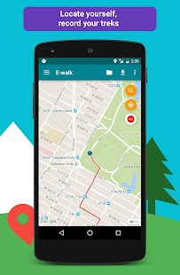 E-walk - Offline maps Screenshot