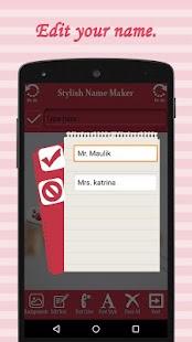 Stylist Name Maker - náhled