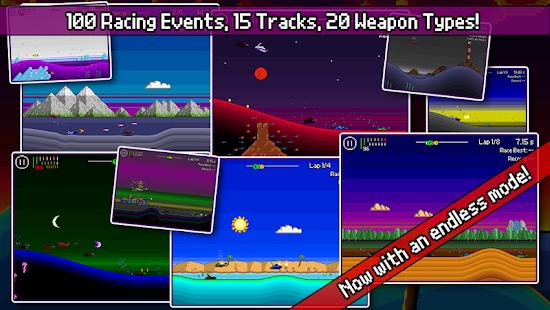 Pixel Boat Rush Screenshot 4
