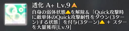 透化[A+]