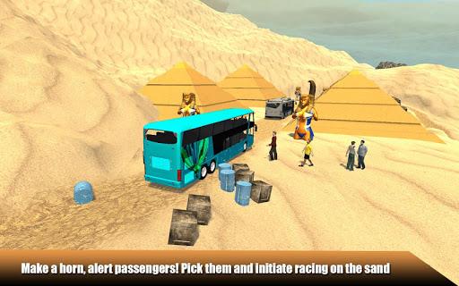 Offroad Desert Bus Simulator apktram screenshots 3