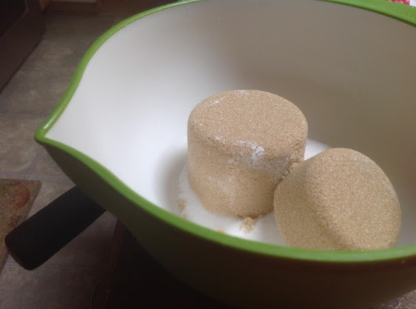Measure out both sugars into a small bowl.