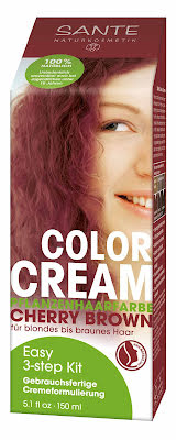 Color cream sherry brown