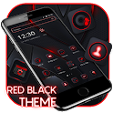 Red Black Neon HD Business Theme 💖 icon