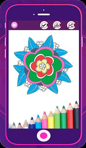 Adult Color Book - Coloring Mandala Stylish Pages 1.0 screenshots 1