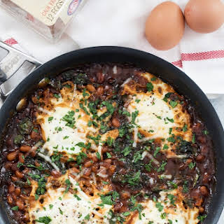 Boston Baked Beans and Eggs.