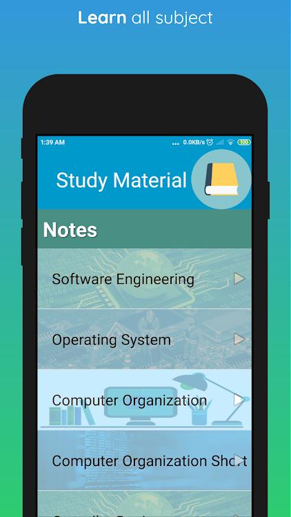 GATE CSE – (Android Aplikace) — AppAgg