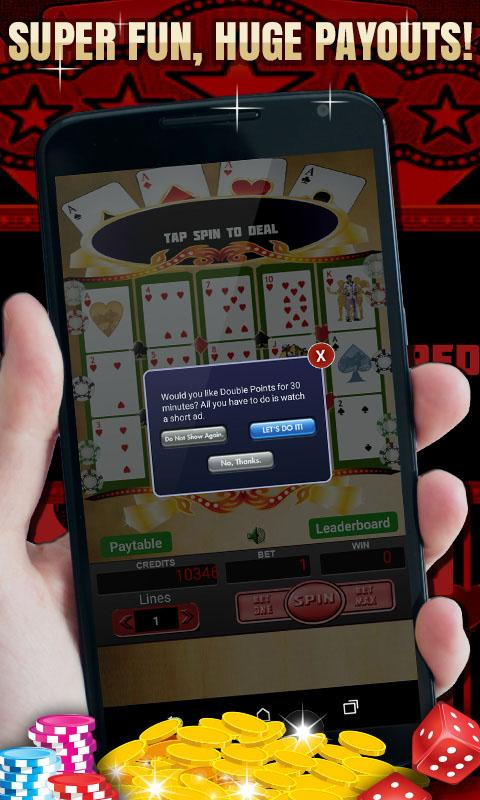 poker slot machine app