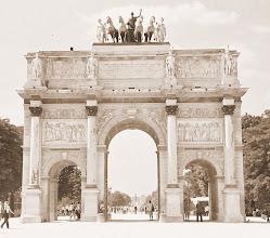Photo: Paris Arc de Triomphe * Pierre François Léonard Fontaine: Diadalív