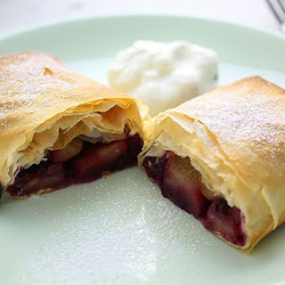 Apple & Blueberry Strudel