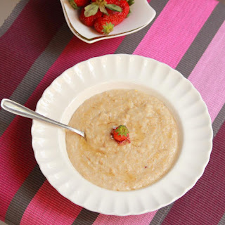 Rose and Honey Flavored Oats.