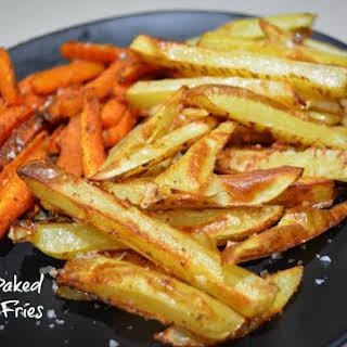 Crispy Oven Baked Fries.