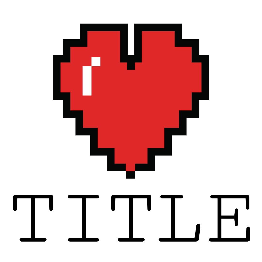 twitch logo heart