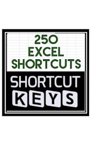 250 Excel shortcuts 1