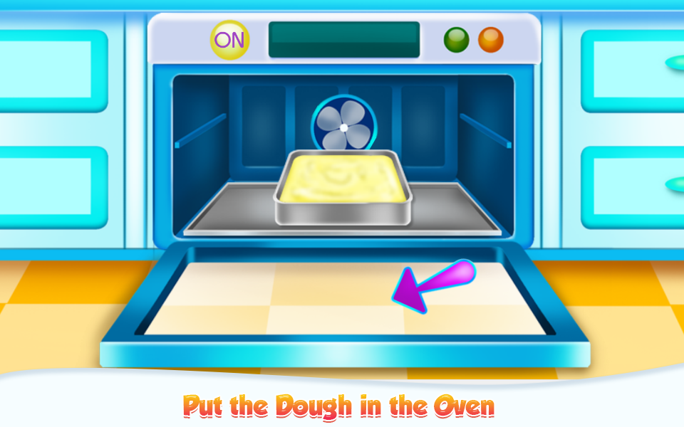 Doll House Cake Cooking- screenshot