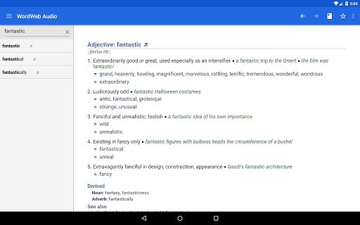 玩免費書籍APP|下載WordWeb Audio Dictionary app不用錢|硬是要APP