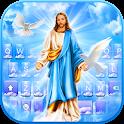 Holy Jesus Keyboard Theme icon