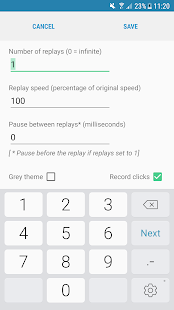 Automatic Tap - Auto Clicker/Tap Sequence Recorder Screenshot