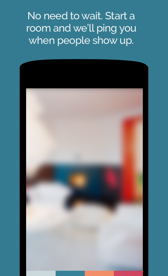 Rooms - group video chat- screenshot