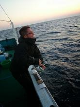 Photo: スケベの文丸船長もフィーッシュ!