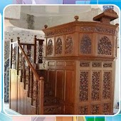 The idea of ​​the pulpit of the mosque