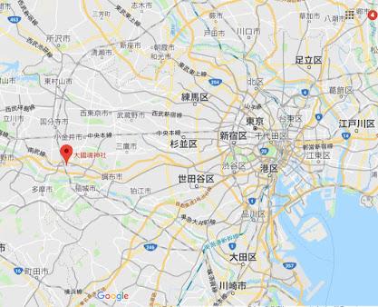 地図:大國魂神社