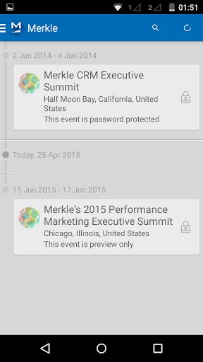 Merkle Events