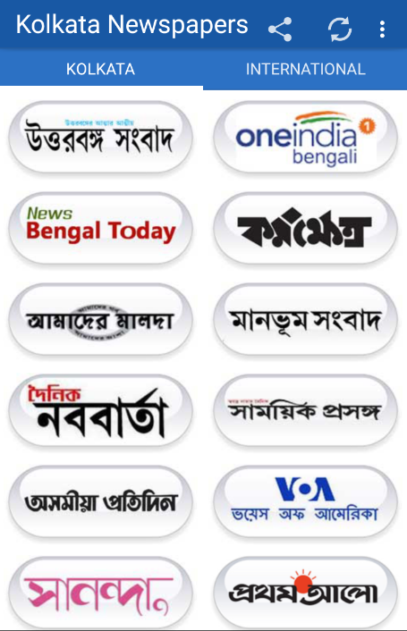 www.all bangla news paper in kolkata
