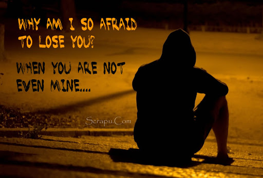 Why am I so afraid to lose you? image