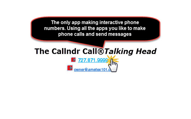Callndr® Call Talking Head®