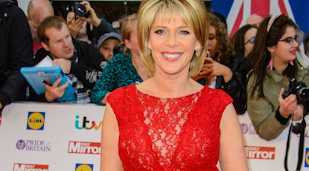 Ruth Langsford did Ouija board at boarding school
