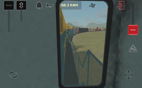 Train and rail yard simulator 10
